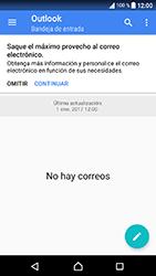 Sony Xperia XA1 - E-mail - Configurar Outlook.com - Paso 5