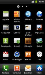 Samsung I9001 Galaxy S Plus - Internet - Uitzetten - Stap 3