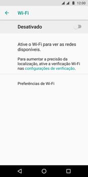 Motorola Moto G6 Plus - Wi-Fi - Como configurar uma rede wi fi - Etapa 6