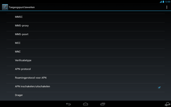 Acer Iconia Tab A3 - Internet - Handmatig instellen - Stap 16