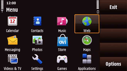 Nokia N97 Mini - Internet - Internet browsing - Step 2