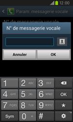 Samsung I9105P Galaxy S II Plus - Messagerie vocale - configuration manuelle - Étape 9