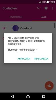 Sony F8331 Xperia XZ - Android N - Contactgegevens overzetten - delen via Bluetooth - Stap 11