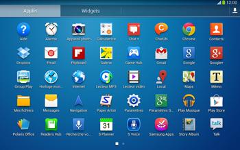 Samsung P5220 Galaxy Tab 3 10-1 LTE - Internet - Activer ou désactiver - Étape 3