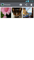 LG Optimus F5 - Photos, vidéos, musique - Envoyer une photo via Bluetooth - Étape 5