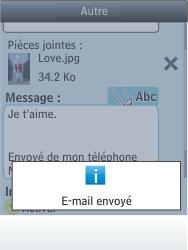 Nokia Asha 300 - E-mail - envoyer un e-mail - Étape 17
