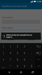 HTC One M8 - E-mail - Configuration manuelle - Étape 16