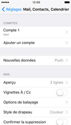 Apple iPhone 5 iOS 9 - E-mail - Configuration manuelle - Étape 14