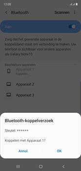 Samsung galaxy-note-10-dual-sim-sm-n970f - Bluetooth - Headset, carkit verbinding - Stap 8