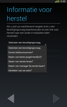 Samsung T315 Galaxy Tab 3 8-0 LTE - Applicaties - Account aanmaken - Stap 13