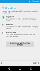Sony Sony Xperia Z5 (E6653) - E-mail - Manual configuration - Step 21
