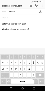 LG V30 (H930) - E-mail - Bericht met attachment versturen - Stap 11