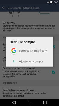 LG H815 G4 - Device maintenance - Back up - Étape 10