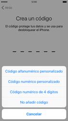 Apple iPhone 6s iOS 9 - Primeros pasos - Activar el equipo - Paso 15