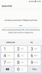 Samsung Galaxy A5 (2017) - Segurança - Como ativar o código de bloqueio do ecrã -  10