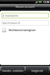 HTC A510e Wildfire S - E-mail - e-mail instellen: IMAP (aanbevolen) - Stap 6