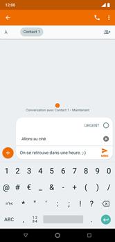 Nokia 7.1 - Contact, Appels, SMS/MMS - Envoyer un MMS - Étape 10