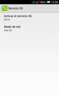 Alcatel Pop C9 - Red - Seleccionar el tipo de red - Paso 9