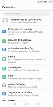 Huawei P Smart - Internet no telemóvel - Como ativar os dados móveis -  4