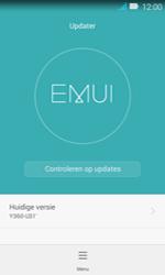 Huawei Y3 - Netwerk - Software updates installeren - Stap 8