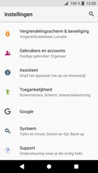 Sony Xperia XZ1 - Device maintenance - Terugkeren naar fabrieksinstellingen - Stap 5
