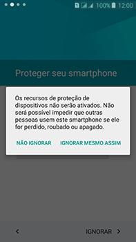 Samsung Galaxy J7 - Primeiros passos - Como ativar seu aparelho - Etapa 12