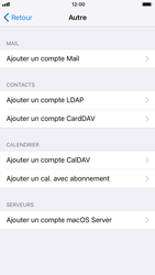 Apple iPhone 7 iOS 11 - E-mail - Configuration manuelle - Étape 7