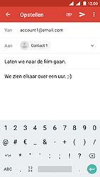 Nokia 3 - Android Oreo - E-mail - E-mails verzenden - Stap 9
