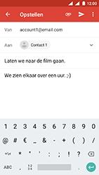 Nokia 3 - Android Oreo - E-mail - e-mail versturen - Stap 8