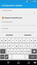 Sony Xperia M5 (E5603) - E-mail - Configurar correo electrónico - Paso 17