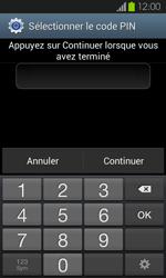 Samsung Galaxy S2 - Sécuriser votre mobile - Activer le code de verrouillage - Étape 8