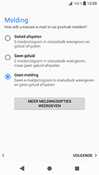 Sony Xperia XZ - Android Oreo - E-mail - e-mail instellen: POP3 - Stap 20