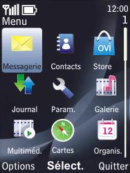 Nokia 6700 classic - E-mail - envoyer un e-mail - Étape 2