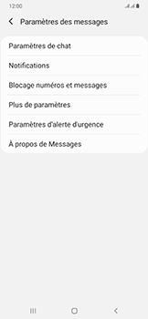 Samsung Galaxy A50 - SMS - configuration manuelle - Étape 7