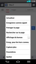 LG G2 - Internet - Navigation sur internet - Étape 6