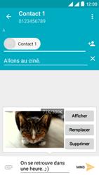 Wiko Rainbow Lite 4G - Contact, Appels, SMS/MMS - Envoyer un MMS - Étape 17