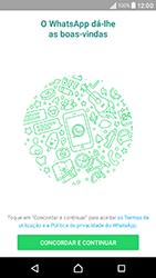 Sony Xperia XA (F3111) - Aplicações - Como configurar o WhatsApp -  5