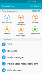 Samsung G920F Galaxy S6 - Wifi - configuration manuelle - Étape 3