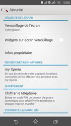 Sony Xperia E4g - Sécuriser votre mobile - Activer le code de verrouillage - Étape 5