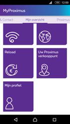 Sony Xperia M5 - Applicaties - MyProximus - Stap 21