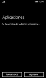 Nokia Lumia 635 - Primeros pasos - Activar el equipo - Paso 22