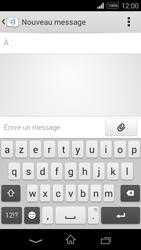 Sony Xpéria E3 - Contact, Appels, SMS/MMS - Envoyer un SMS - Étape 5