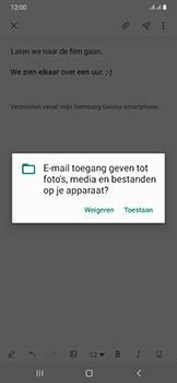 Samsung Galaxy A50 - E-mail - e-mail versturen - Stap 13