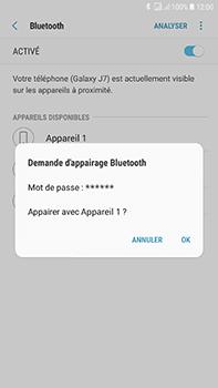Samsung J730F Galaxy J7 (2017) (DualSIM) - Bluetooth - connexion Bluetooth - Étape 10