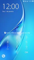 Samsung Galaxy J3 Duos - Funções básicas - Como reiniciar o aparelho - Etapa 4