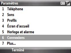 HTC S521 Snap - MMS - Configuration manuelle - Étape 4