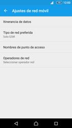 Sony Xperia Z5 - Red - Seleccionar el tipo de red - Paso 8