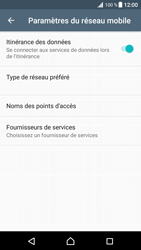 Sony Xperia XZ Premium - Aller plus loin - Désactiver les données à l'étranger - Étape 6