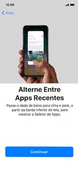 Apple iPhone X - iOS 12 - Primeiros passos - Como ativar seu aparelho - Etapa 30