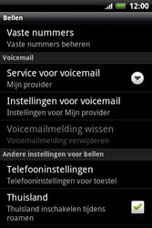 HTC A510e Wildfire S - Voicemail - handmatig instellen - Stap 5